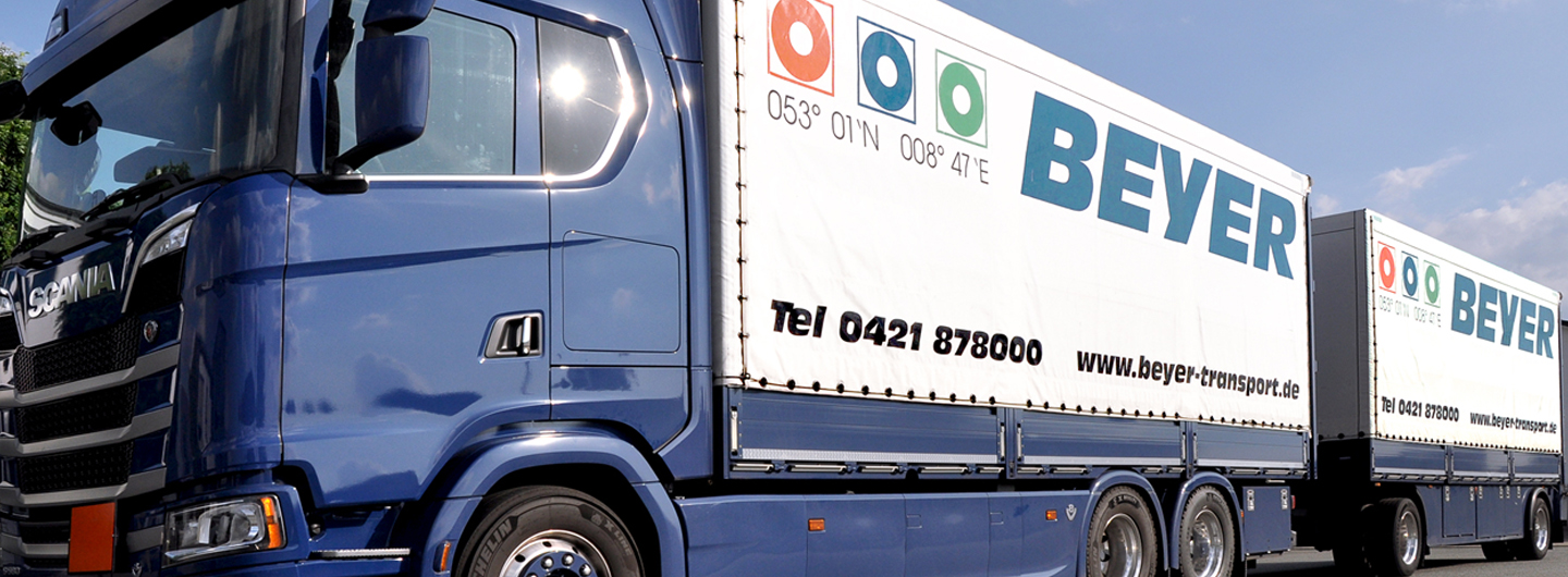 Nationale<br>LKW-Spedition